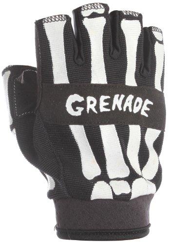 Grenade Men's Bender Fingerless Glove, Black, Medium ()