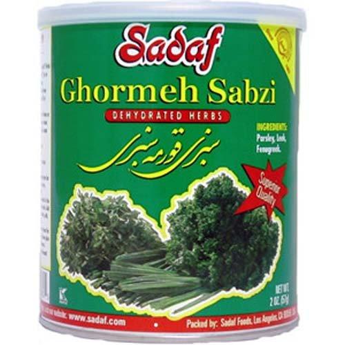 Sadaf Ghormeh-Sabzi Herb Mixture, 2 Ounce Can