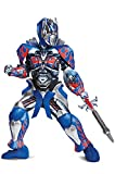 Disguise Optimus Prime Movie Prestige Costume, Blue, Small (4-6)