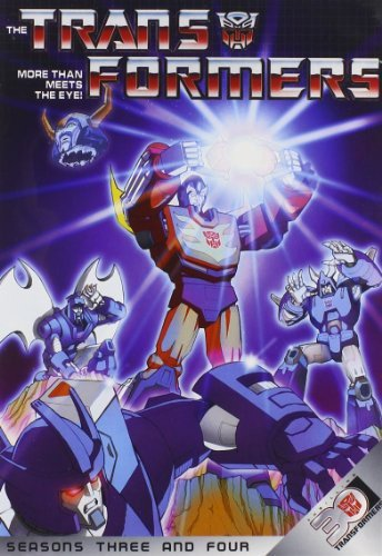 - Transformers: More Than Meets The Eye! Season 3 & Four