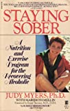 Staying Sober, Judy Myers and Maribeth Mellin, 0671661256