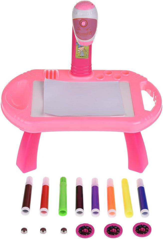 Pueri Proyector Infantil para Dibujar Pizarra Infantil de Aprender ...