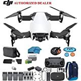 DJI Mavic Air Fly More Combo Drone - Quadcopter with 64gb SD Card - 4K Professional Camera Gimbal – 4 Battery Bundle - Kit - with Must Have Accessories (Arctic White)