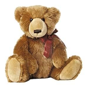 "Aurora World Olde Time Christmas Bear Plush Toy, 15"""