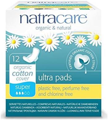 Natracare Ultra Super - 12 Compresas ultra súper de algodón orgánico: Amazon.es: Industria, empresas y ciencia