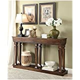 ACME Garrison Oak Console Table
