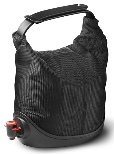 Menu 4655539 Baggy Winecoat Wine Bag Tote, Black