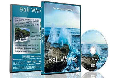 Bali Wave - Relaxing Ocean DVD - Bali Ocean Waves - Aerial View of Spectacular Bali Beaches and Waves with Sea and Ocean Sounds