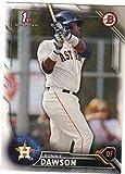 2016 Bowman Draft Baseball Prospect Base #BD-53 Ronnie Dawson Astros