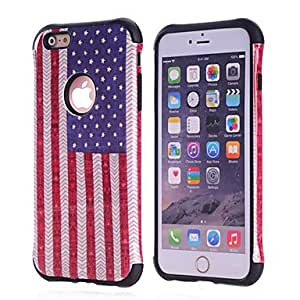 QHY Cool Armor 2 in 1 Hybrid Hard Silicone + PC Back Shell Cover for iPhone 6