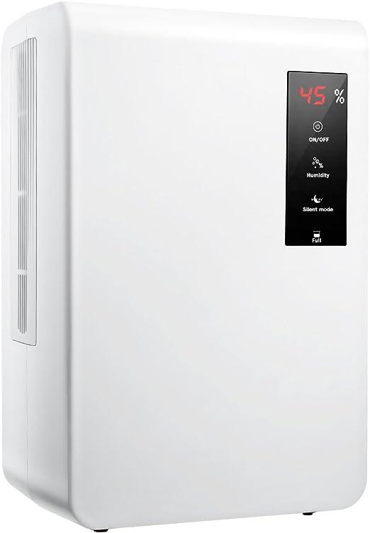IKICH Deshumidificador para Ambientes, 3000 ml, Pantalla LED ...