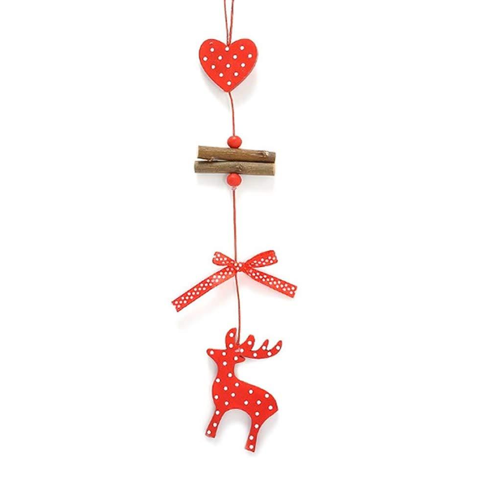 Hemore addobbi Natalizi Elk Una Carica Come Mostrato Natale Addobbi e Decorazioni per ricorrenze