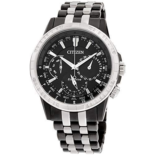 Men's Citizen Eco-Drive Calendrier Two-Tone Bracelet Watch - Tone Watch Citizen Bracelet Two Mens