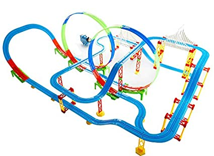 Kiditos Electronic Thomas Friends Train Tracks Racer Educational Building Blocks With Sound Light