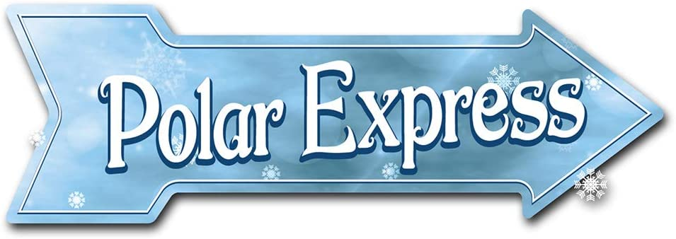 SignMission Decal Art Polar Express Decal Indoor/Outdoor Decor 24