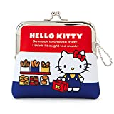 Sanrio Hello Kitty purse coin case tricolor From Japan New