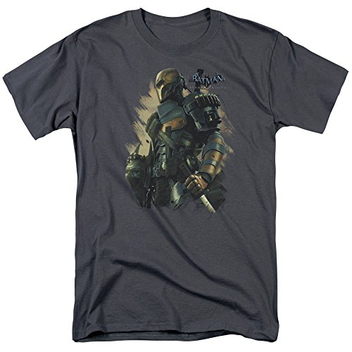 Batman Arkham Origins - Deathstroke T-Shirt Size