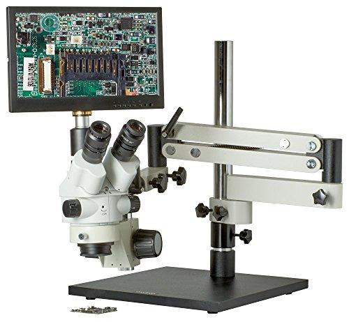 CX3-2300S-V7 - 7.5x-45x - Trinocular Zoom Stereo Microscope