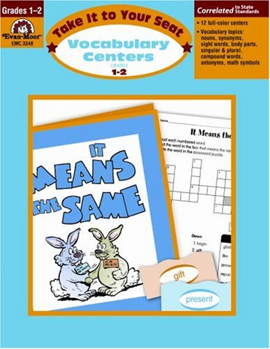 Take It to Your Seat Vocabulary Centers, Grades 1-2 (Vocabulary Seat Centers)