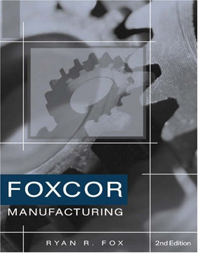 Foxcor Manufacturing Company Practice Set