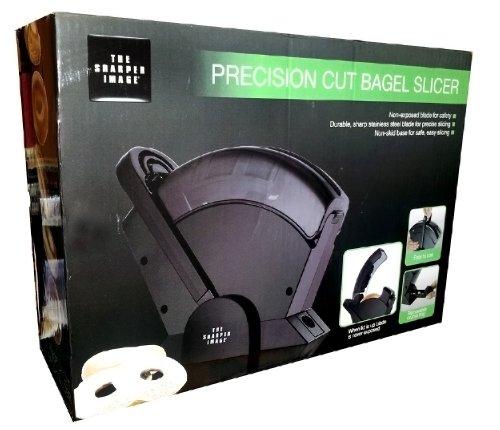 (The Sharper Image Precision Cut Bagel Slicer)
