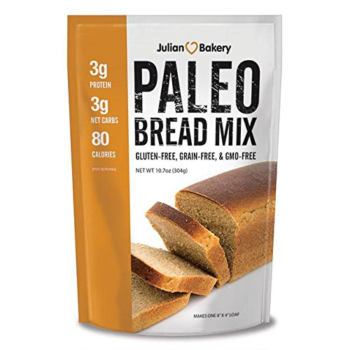 Paleo Bread Mix (Low Carb & Gluten Free) by Julian Bakery