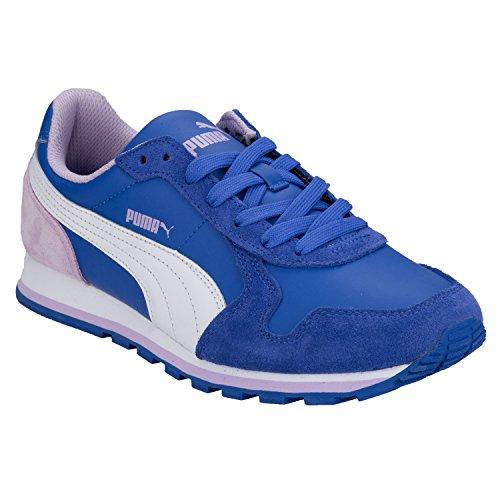 Puma , Baskets mode pour fille bleu bleu