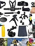 13-in-1 Outdoor Sports Essentials GoPro Accessories Kit for GoPro HERO4s 4 3+ 3 2 Action Cameras