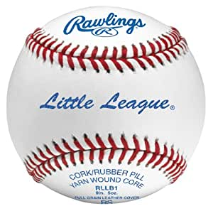 Rawlings Little League Baseballs Dozen RLLB1-DZ