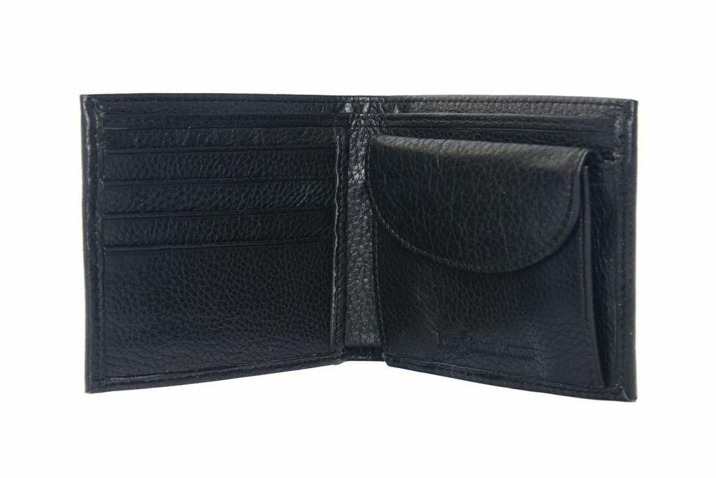 d36e51bbcd Ralph Lauren AW636 Billfold Portafoglio da uomo in pelle con portamonete,  colore: nero: Amazon.it: Valigeria