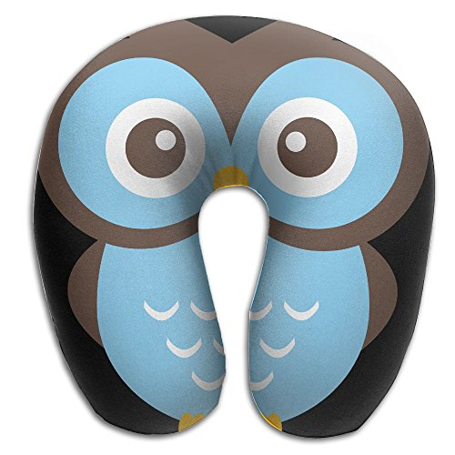 Glasses Owl Fashion U Type Pillow Neck Pillow Travel Pillows Super Soft Cervical Pillows With Resilient Material