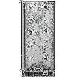 Appliances : AGA Marvel 25OiM-SS-F-L Outdoor Under-Counter Crescent Ice Machine, Left Hinge Stainless Steel Door, 15-Inch