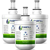 Fabfill Samsung DA29-00003G Refrigerator Water Filter Replacement And Fits DA29-00003B, DA29-00003A, HAFCU1 (3 Pack)