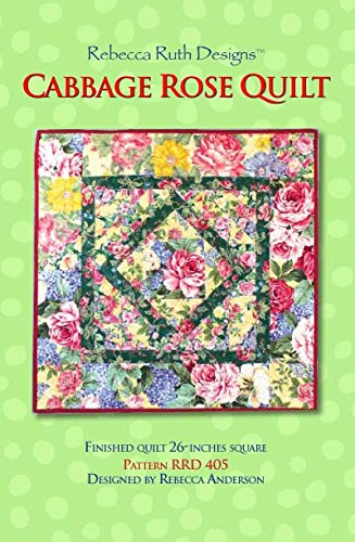 Amazon Cabbage Rose Quilt Sewing Pattern Arts Crafts Sewing