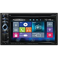 Power Acoustik 6.2 Double-din In-dash LCD Touchscreen DVD Receiver (PD-624HB)