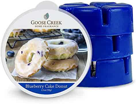 Goose Creek Wax Melts Home Fragrance Scented Wax Melts, Blueberry Cake Donut Melt, Three Pack Eighteen Total Melts
