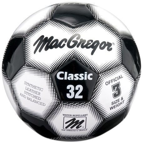 - MacGregor Classic Soccer Ball, Size-3