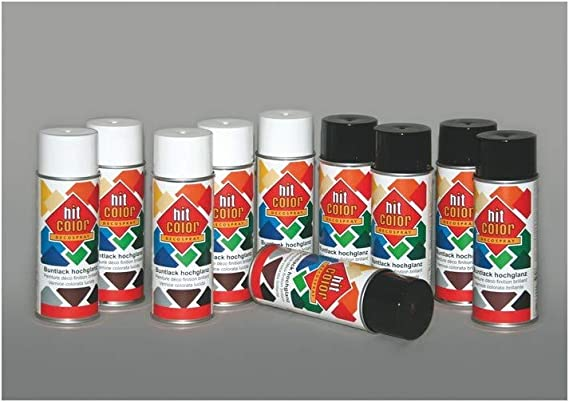 Auto K Hitcolor Spray 400 Ml Lichtgrau Ral 7035 320010 Auto