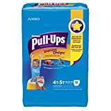 Health & Personal Care : Huggies Pull-Ups Training Pants for Boys with Learning Designs, Jumbo Pack, Size 4T-5T, 19 Count