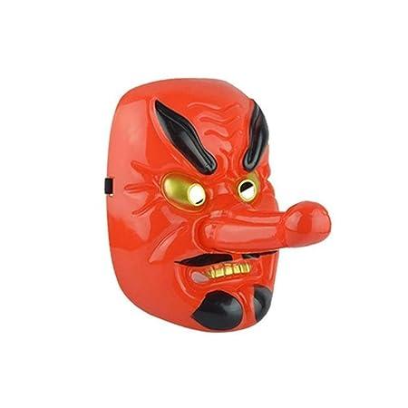 7°MR Mascara Purga Disfraz Plástico Tengu Máscara de Nariz Larga ...