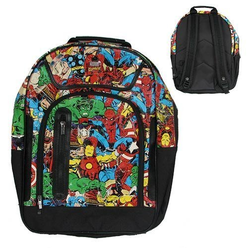 BB Designs Marvel Multi Character Back Pack by BB Designs