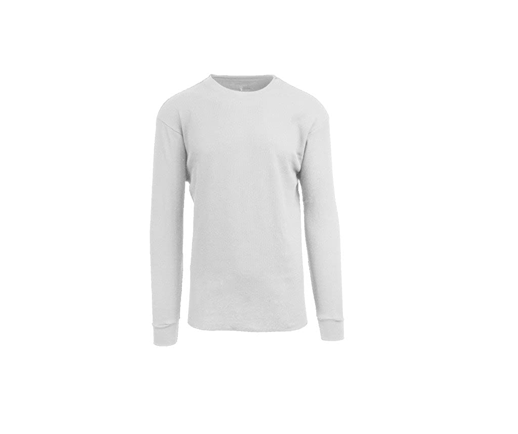 0d58c727 Galaxy by Harvic Mens Crew Neck Thermal Shirt (Multiple Sizes/Colors) at  Amazon Men's Clothing store: