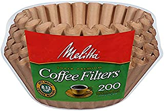 Melitta (732233494584) Super Premium 8-12 Cup Basket Coffee Filters, Natural Brown, 200 Count (Pack of 8) (B001M0508E) | Amazon price tracker / tracking, Amazon price history charts, Amazon price watches, Amazon price drop alerts