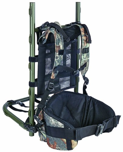 Allen Grand Mesa Aluminum Pack Frame with Pouch, Mossy Oak Break-Up Infinity