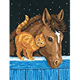 Dimensions Needlecrafts Paintworks Paint By Number, Pony And Kitten