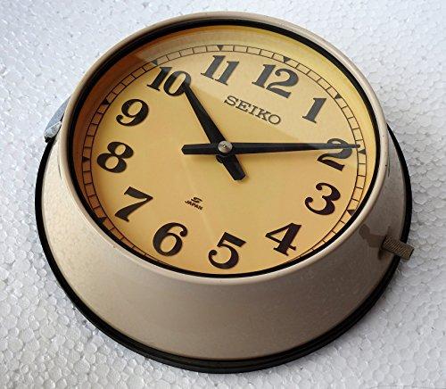 (Triveni Art & Crafts Vintage Maritime Clocks Original Rare Slave Marine Time Nautical Ship Quartz Clock Wall Clock)