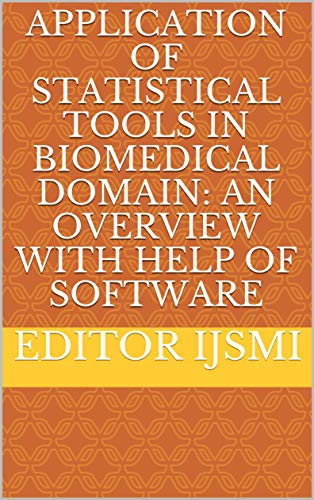 Amazon Com Applicationhelp >> Application Of Statistical Tools In Biomedical Domain An