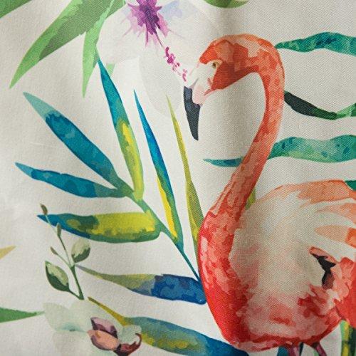 Clayre & Eef jzbg0036sacchetto Flamingo Jungle 36x 9x 39cm in stile rustico, Vintage Deco
