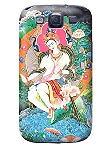 LarryToliver what a Nice Durable Customizable Tibetan book pictures Case Cover with samsung Galaxy s3 #1