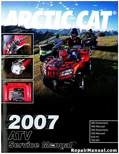 2257-693 2007 Arctic Cat 400 500 650 700 ATV Service Manual: by Author:  Amazon.com: Books | Wiring Schematic 2007 Arctic Cat 700 |  | Amazon.com